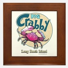 Big Crabby... Framed Tile