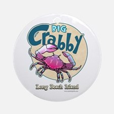 Big Crabby... Ornament (Round)