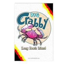 Big Crabby... Postcards (Package of 8)