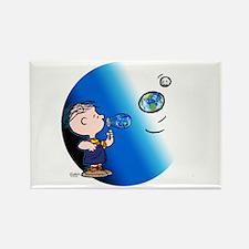 Bubble Boy Rectangle Magnet