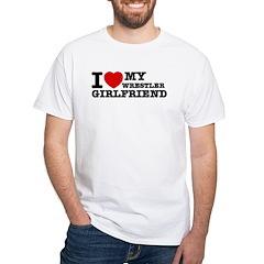 I love my Wrestler Girlfriend Shirt