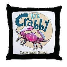 Li'l Crabby... Throw Pillow