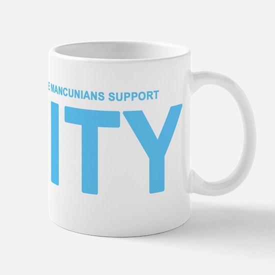 True Mancunians Support City Mug