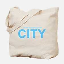 True Mancunians Support City Tote Bag