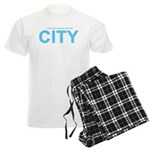True Mancunians Support City Men's Light Pajamas