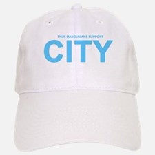 True Mancunians Support City Baseball Baseball Cap