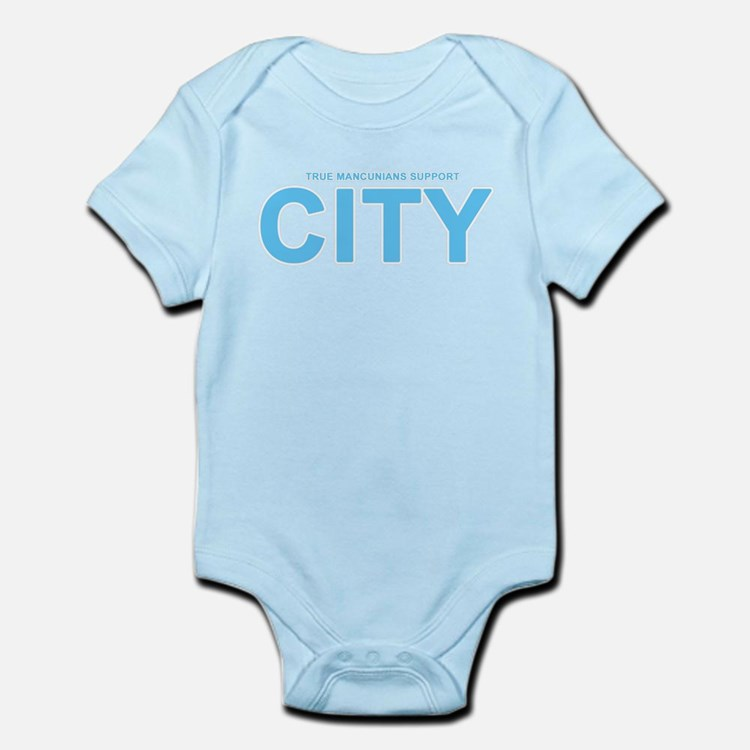 True Mancunians Support City Infant Bodysuit