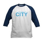 True Mancunians Support City Kids Baseball Jersey
