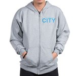 True Mancunians Support City Zip Hoodie