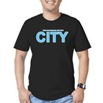True Mancunians Support City Men's Fitted T-Shirt