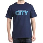 True Mancunians Support City Dark T-Shirt