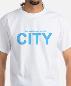 True Mancunians Support City Shirt