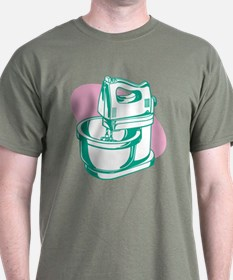 'Green Mixer' T-Shirt