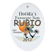 Marco RUBIO VP Ornament (Oval)