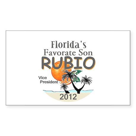 Marco RUBIO VP Sticker (Rectangle)