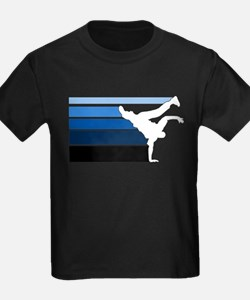 Break lines blu/wht T