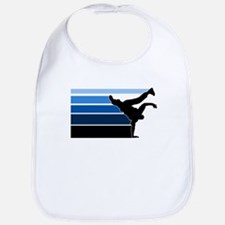 Break lines blu blk Bib