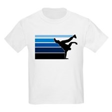 Break lines blu blk T-Shirt