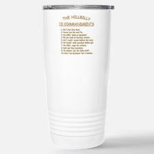 The Hillbilly 10 Commandments Travel Mug