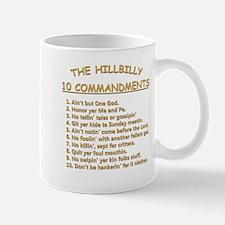 The Hillbilly 10 Commandments Mug