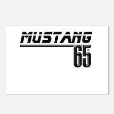MUSTANG 65 Postcards (Package of 8)