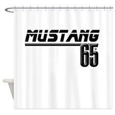 MUSTANG 65 Shower Curtain