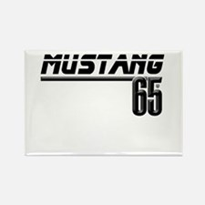 MUSTANG 65 Rectangle Magnet