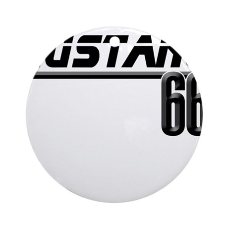 MUSTQANG 66 Ornament (Round)