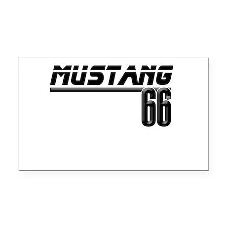 MUSTQANG 66 Rectangle Car Magnet