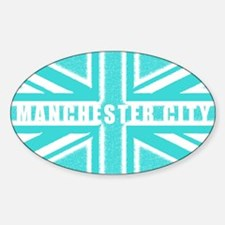 Manchester City Union Jack Decal