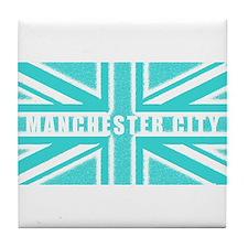 Manchester City Union Jack Tile Coaster