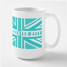 Manchester City Union Jack Mug