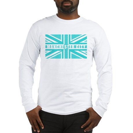 Manchester City Union Jack Long Sleeve T-Shirt