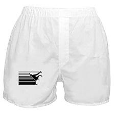 Break lines gray/blk Boxer Shorts