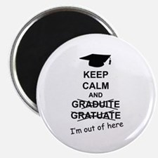 Keep Calm Graduate Magnet
