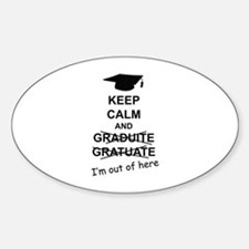 Keep Calm Graduate Decal