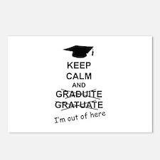Keep Calm Graduate Postcards (Package of 8)