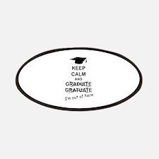 Keep Calm Graduate Patches