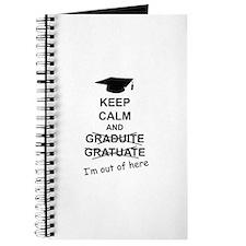 Keep Calm Graduate Journal