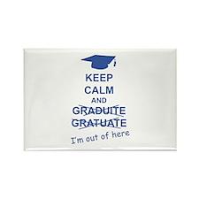Keep Calm Graduate Rectangle Magnet