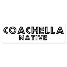 Coachella Native Bumper Bumper Sticker
