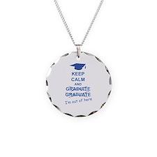 Keep Calm Graduate Necklace