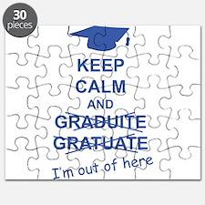Keep Calm Graduate Puzzle