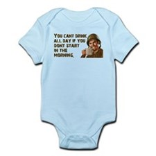 Sometimes You Have To Start Early Infant Bodysuit