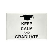 Keep Calm and Graduate Rectangle Magnet
