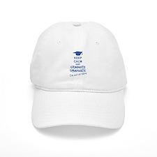 Keep Calm Graduate Baseball Cap