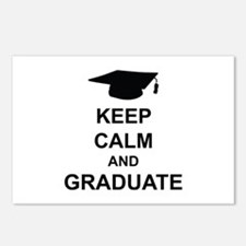 Keep Calm and Graduate Postcards (Package of 8)