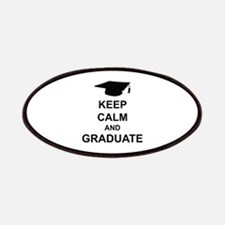 Keep Calm and Graduate Patches