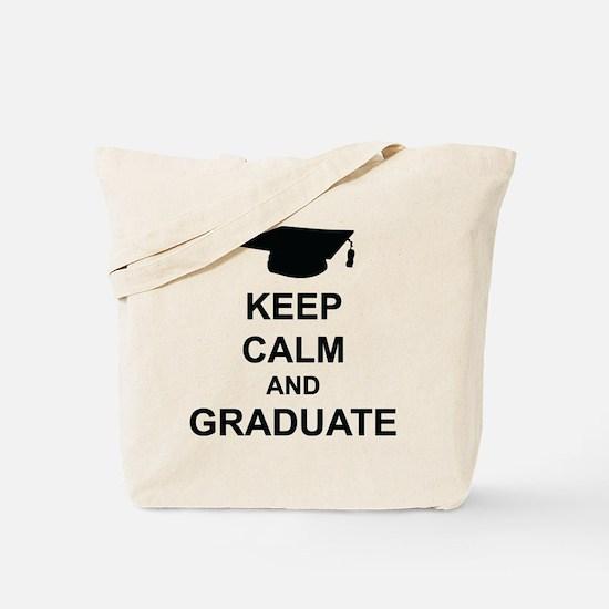 Keep Calm and Graduate Tote Bag