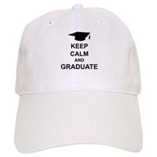 Keep Calm and Graduate Baseball Baseball Cap